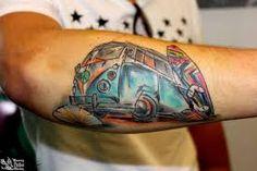 Bildergebnis für volkswagen bus tattoo