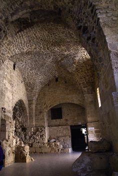 Crusader Ruins in Acre Israel