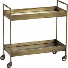 Crate & Barrel Libations Bar Cart