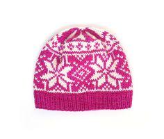 Ravelry: Pink Rose Beanie pattern by Olga Begak Beanie Pattern, Headgear, Ravelry, Knitted Hats, Knitting, Rose, Christmas, Pink, Fashion
