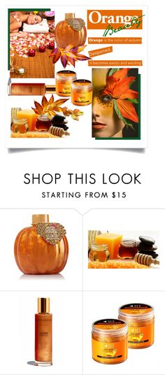 """Fall Beauty: Orange Crush"" by vittorio-1 ❤ liked on Polyvore featuring beauty"