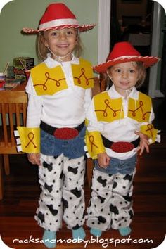 Diy jessie and woody costumes halloween costumes pinterest racks and mooby diy jessie toy story toddler costume no sewing solutioingenieria Images