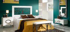 Forja Cruz Cuenca Grace Cabecero en forja con un moderno y elegante diseño. Disponibles colores y medidas.