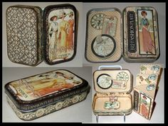 A beautifully transformed altoid tin into A Ladies' Diary keepsake! By Jocelyn Susue Micke Cazier. Lovely! graphic45