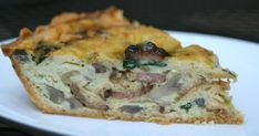I don't care how gauche it might be, but I love quiche y'all. I mean, right? It's an omelet and a pie, all in one. I remember my mom ma...