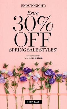 JCrew - Spring Sale