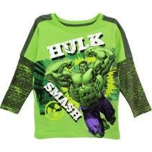 Incredible Hulk Boys Green T-Shirt 8M8330