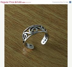 HOT CHRISTMAS SALE Plain Design Sterling Silver by handplayart