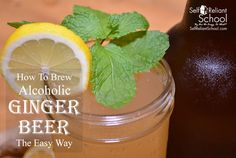 How To Make Alcoholic Ginger Beer The Easy Way
