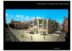 El futur Mercat de Tarragona