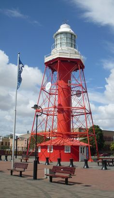 Port Adelaide Lighthouse   this is where I live near it...
