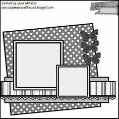 Find this Pin and more on Scrapbook Layout Sketch Ideas. Scrapbook Layout Sketches, Scrapbook Templates, Card Sketches, Scrapbook Paper Crafts, Scrapbooking Layouts, Heritage Scrapbooking, Wedding Scrapbook, Disney Scrapbook, Baby Scrapbook