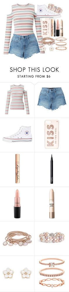 """""""#14"""" by moon-crystal-wolff ❤ liked on Polyvore featuring Miss Selfridge, Alexander Wang, Converse, Kate Spade, Charlotte Tilbury, NARS Cosmetics, MAC Cosmetics, Maybelline, Marjana von Berlepsch and Blue Nile"""