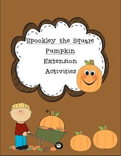 Spookley the Square Pumpkin Themed Activities