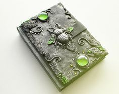 The Art of Bookbinding : Absolutely amazing polymer clay journals by © Anna...
