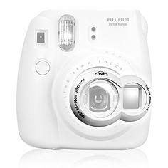 Close-up Lens for Fujifilm Instax Mini7s 8 Instant Camera Photo Film Fuji Selfie Mirror - White