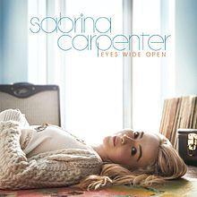 Eyes Wide Open by Sabrina Carpenter. Sabrina Carpenter Album, Hollywood Records, Meghan Trainor, Girl Meets World, Girls In Love, My Favorite Music, Love Songs, Bean Bag Chair, Eyes