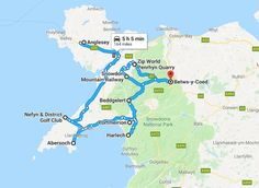 A perfect 1 week itinerary to see the best of North Wales Prinz Charles, Prinz William, Beautiful Places To Visit, Cool Places To Visit, Wales Map, Anglesey, Wales Snowdonia, Scotland Road Trip, Snowdonia National Park
