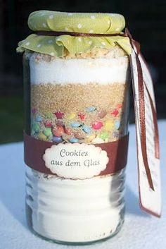 Cookies im Glas Cookies im Glas The post Cookies im Glas appeared first on Glas ideen. Cookies Im Glas, Cupcake Cookies, Jar Gifts, Food Gifts, Diy Christmas Gifts, Xmas, Diy Gifts For Boyfriend, Kitchen Gifts, Diy Food