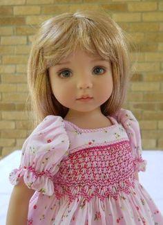 Diana Effner Doll in Smocking