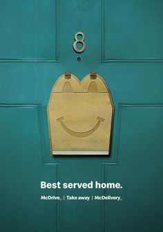 McDonald's Print Advert By DDB: Best served home | Ads of the World™