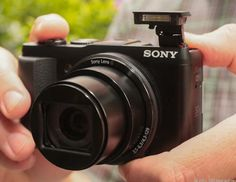 The Sony DSC-HX50V Cyber-shot Digital Still Camera is your perfect travel companion. It's a compact beauty with a 30x optical zoom and a 3-inch LCD screen.