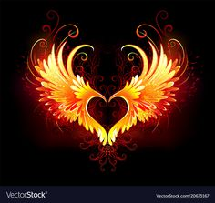Buy Angel Fire Heart with Wings by on GraphicRiver. Angel fire heart with flaming wings on black background. AI and JPEG files are included in archive. Phoenix Artwork, Phoenix Wallpaper, Phoenix Images, Heart Wallpaper, Galaxy Wallpaper, Phoenix Bird Tattoos, Phoenix Tattoo Design, Angel Fire, Fire Image