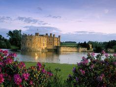 Leeds Castle, Kent, England, United Kingdom Photographic Print by Adam Woolfitt at AllPosters.com