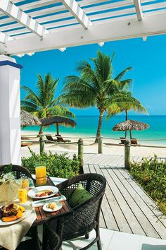Breakfast with a magnifient backdrop at Beaches Ocho Rios. Jamaica Resorts, Jamaica Travel, Beach Resorts, Jamaica Jamaica, Philippines Travel, Beach Hotels, Beach Travel, Hawaii Travel, Vacation Places