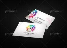Color Business Card - http://www.codegrape.com/item/color-business-card/4533
