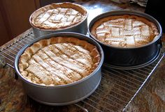 in my home it would not be Easter without Pastiera Di Grano also known as grain pie