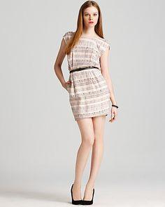 BCBGeneration Dress - V Back Strap   Bloomingdale's
