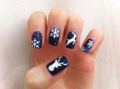 65 Christmas nails