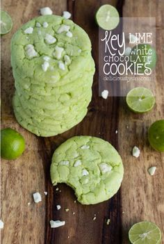 Key Lime White Chocolate Cookies [RECIPE]