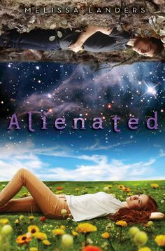 """Alienated"" by Melissa Landers [science fiction] - High school senior Cara Sweeney gets more than she bargained for when she agrees to participate in earth's first intergalactic high school exchange program. Call number: Science Fiction F LAN"