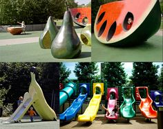 "Top 10 Playgrounds:  I thinks the ""Fruit and Scent"" playground is #1 in my book... very ""Hungry Hungry Caterpillar"" :o)"