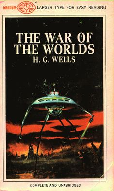 War of the Worlds in large print