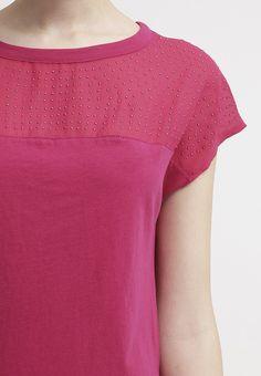 Sisley T-Shirt basic - pink - Zalando.de