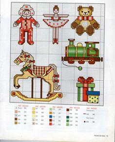 PUNTO CRUZ 6 Navidad