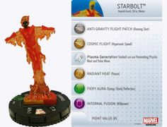 Starbolt #019 Wolverine and the X-Men Marvel Heroclix - Wolverine & the X-Men Booster Set - Wolverine and the X-Men - HeroClix - Miniatures