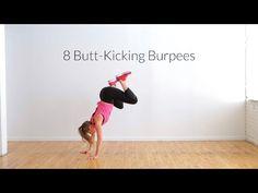 8 Butt-Kicking Burpee Variations + 16 Minute Workout | Nourish Move Love