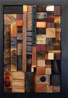 Gallery - heather patterson / mema-studio  wooden mosaics