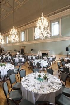 The ballroom at the Assembly Rooms in Bath UK