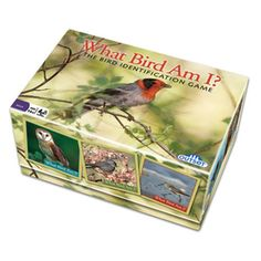 Bird Trivia Game What Bird Am I  The Ultimate Educational Bird Trivia Card Game Featuring Over 300 Bird Photo Cards  Proudly Made in the USA -- Click on the image for additional details. Note:It is Affiliate Link to Amazon.