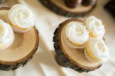 Rosette cupcakes i made