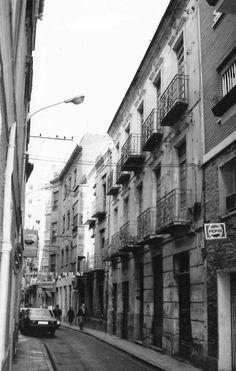 Barrio de San Lorenzo. Calle Zambrana. Murcia.