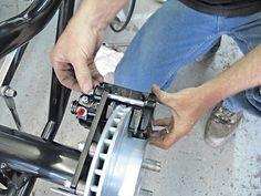 Disc Brakes Caliper Installation