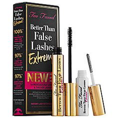 Too Faced - Better Than False Lashes Extreme! #sephora