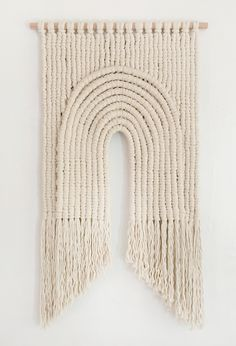 American fiber artist Sally England is known as one of the trail blazers in contemporary macrame. Sally England macrame also incorporates weaving.