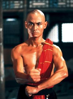 Gordon Liu.  Chinese martial arts movie icon from Hon Kong